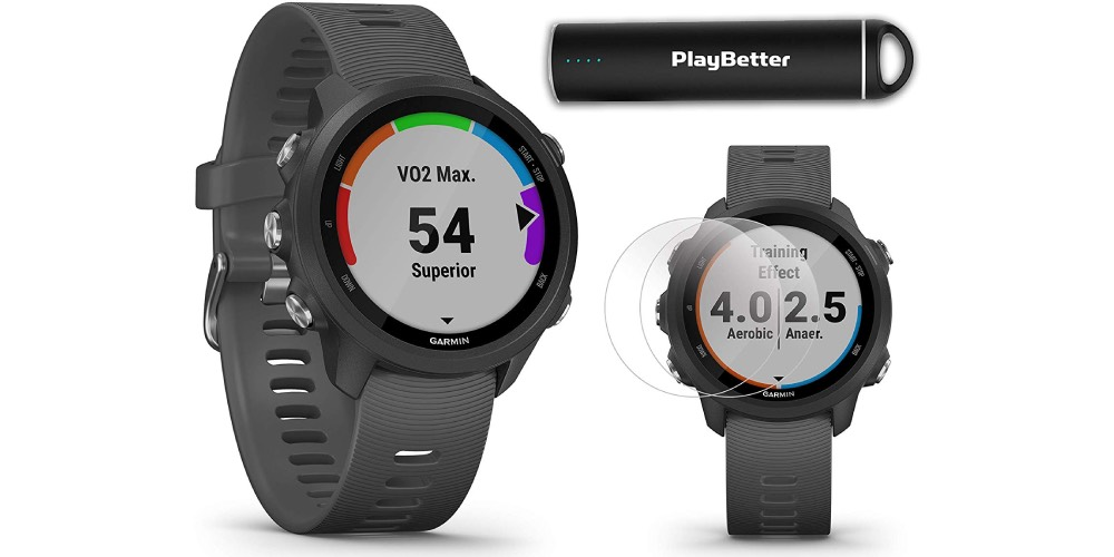 Garmin Forerunner 245 Running GPS Unit Power Bundle Image