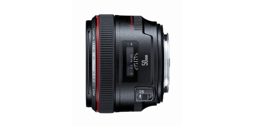 Canon EF 50mm f/1.2L USM Lens Image