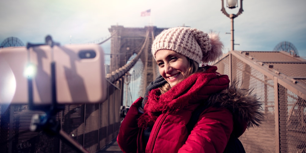 Best Selfie Sticks image-brookline-bridge