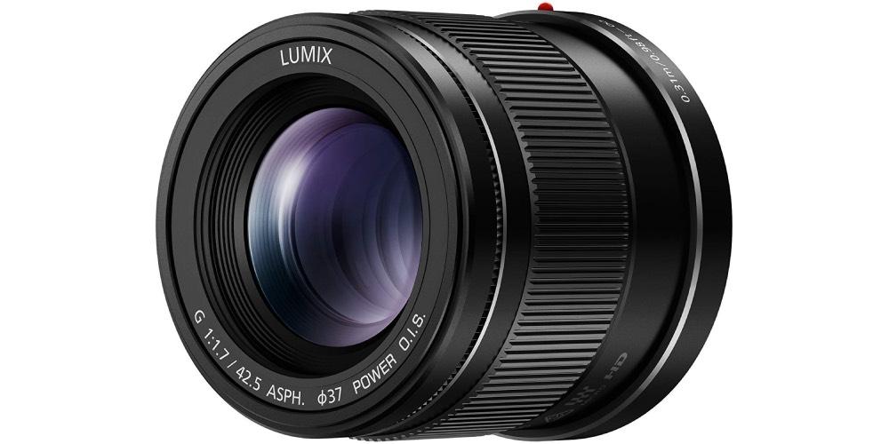 Lumix H-HS043K G 42.5mm/F1.7 Lens Image