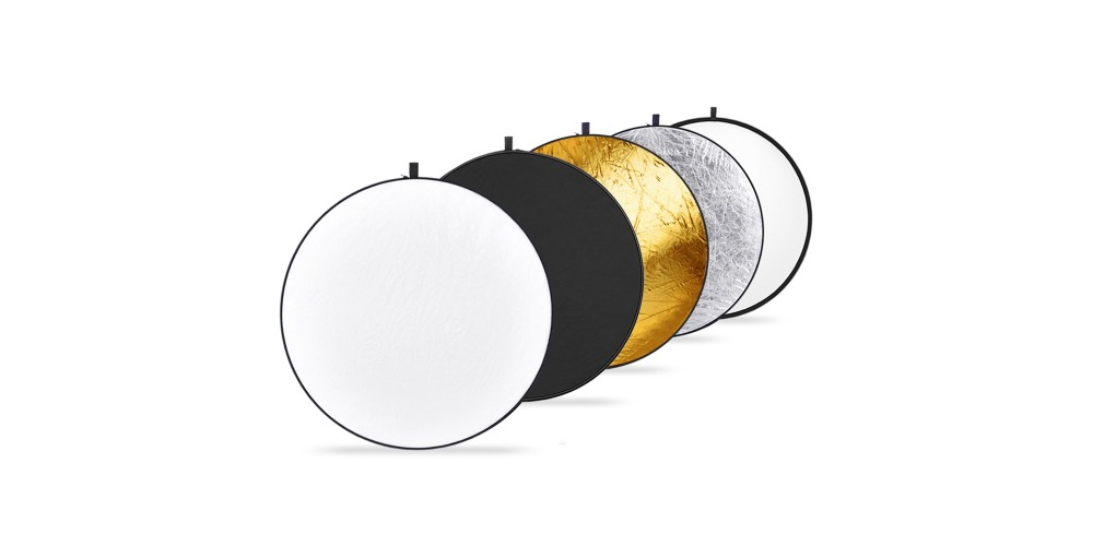 "Neewer 43"" Collapsible 5 in 1 Light Reflector Discs Image"