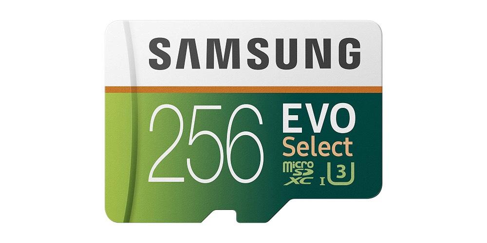 Samsung 256 GB EVO Micro SD Card Image