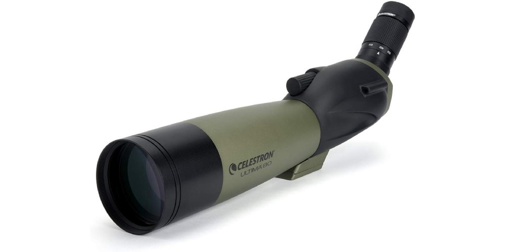 Celestron Ultima80 80mm Angled Spotting Scope Image