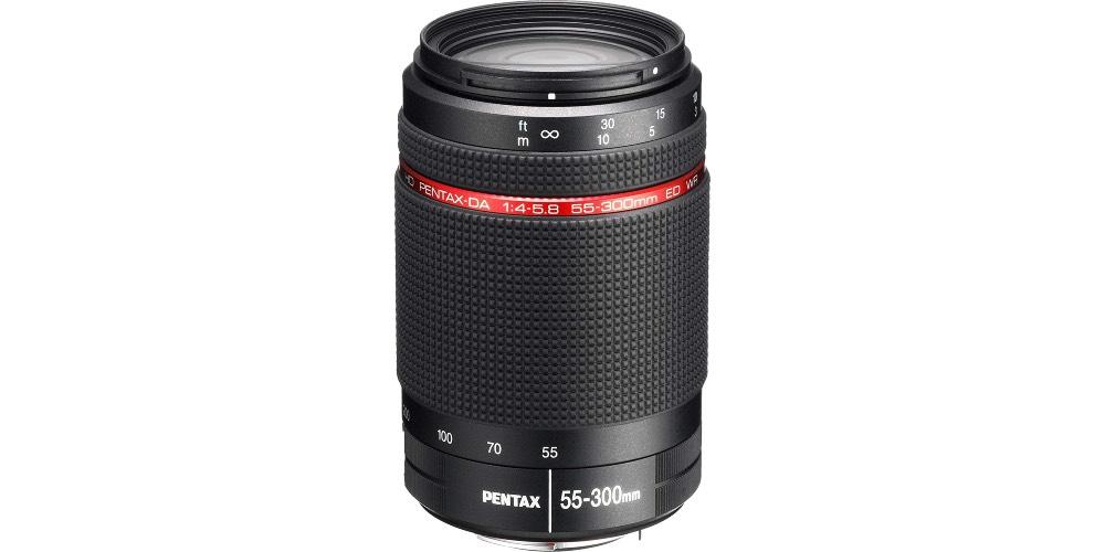 Pentax 55-300mm f/4-5.8 WR Lens Image