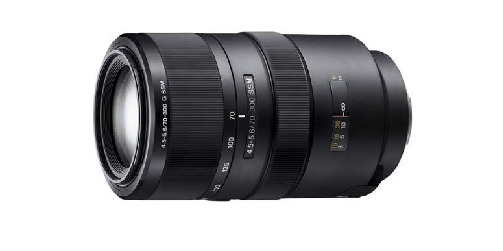 Sony SAL-70300G 70-300mm f/4.5-5.6G SSM Autofocus Lens Image