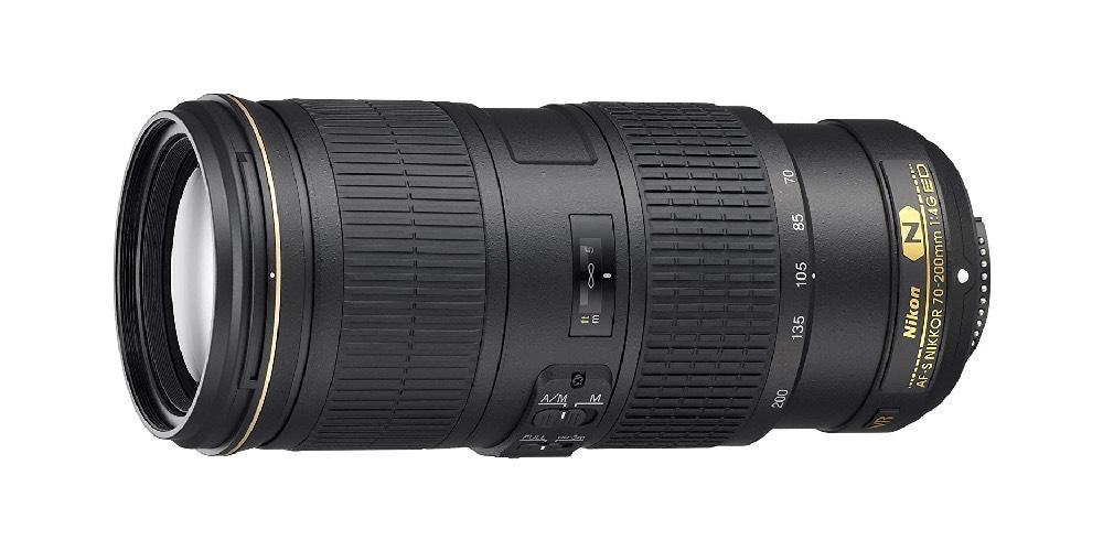 Nikon AF-S NIKKOR 70-200mm f/4G ED VR Lens Image