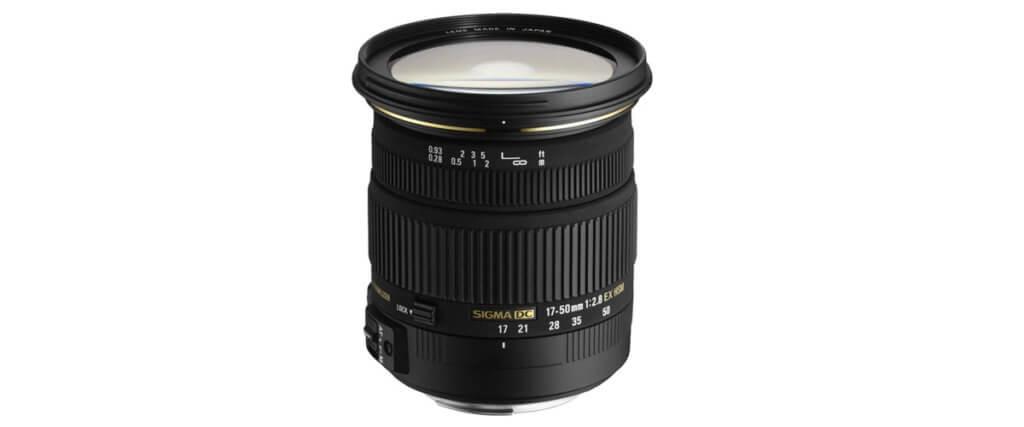 Sigma 17-50mm f/2.8 EX DC OS HSM Image 1