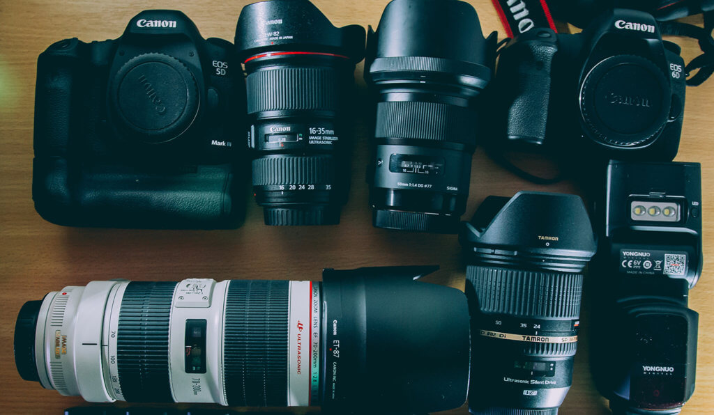 Camera and Lens Rentals Image