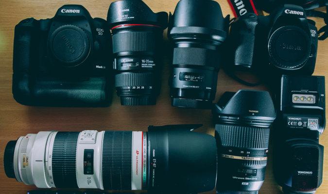 Camera and Lens Rentals Image