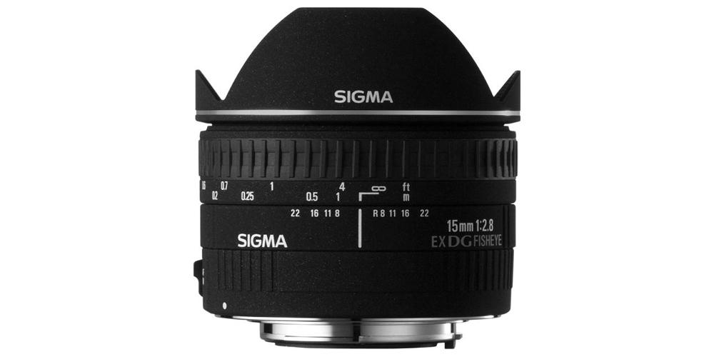 Sigma 15mm f/2.8 EX DG Diagonal Fisheye Image