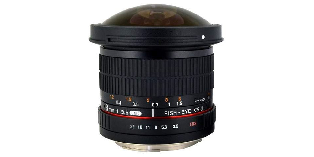 Rokinon 8mm f/3.5 HD Fisheye Image