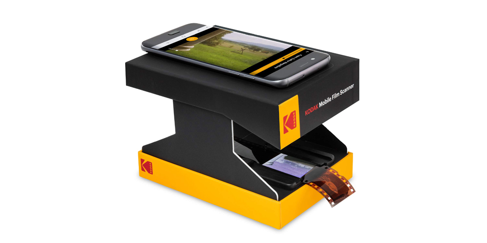 Kodak Mobile Film Scanner Image
