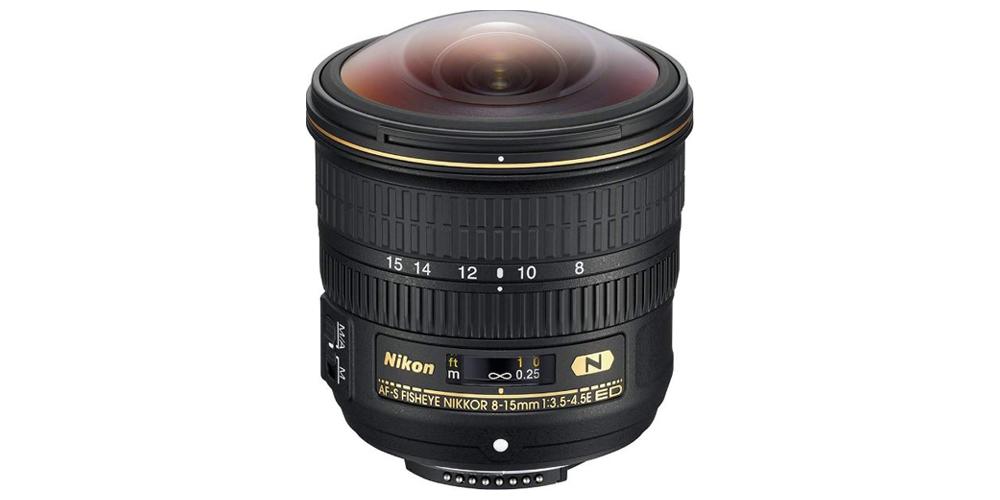 Nikon AF-S FISHEYE NIKKOR 8-15mm f/3.5-4.5E ED Image