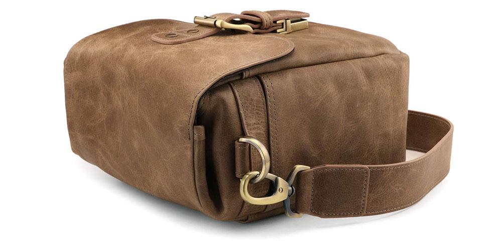 MegaGear Torres Mini Leather Camera Messenger Bag Image 4