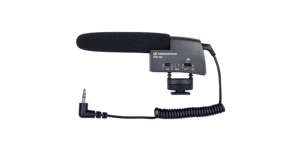 Sennheiser MKE 400 Shotgun Microphone Image