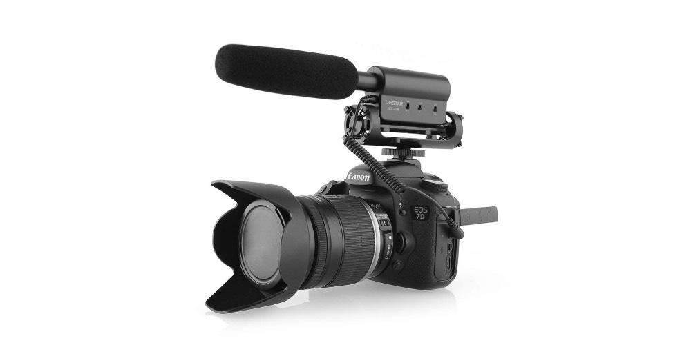 TAKSTAR SGC-598 Interview Microphone for Nikon/Canon Camera/DV CamcorderImage