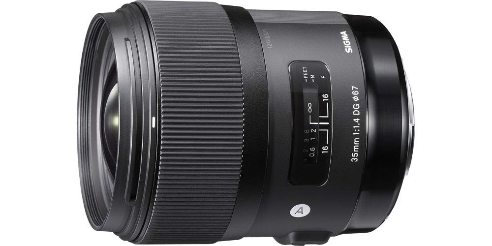 Sigma 35mm F1.4 Art DG HSM Lens for Nikon Image
