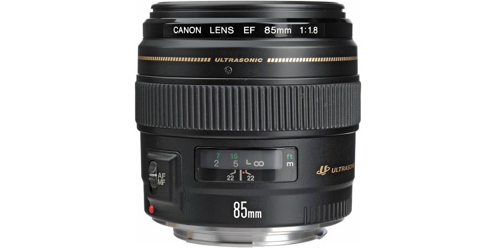 Canon EF 85mm f/1.8 USM Medium Telephoto Lens for Canon SLR Cameras Image