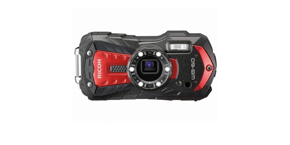 RICOH WG-60 Red Waterproof Camera Image