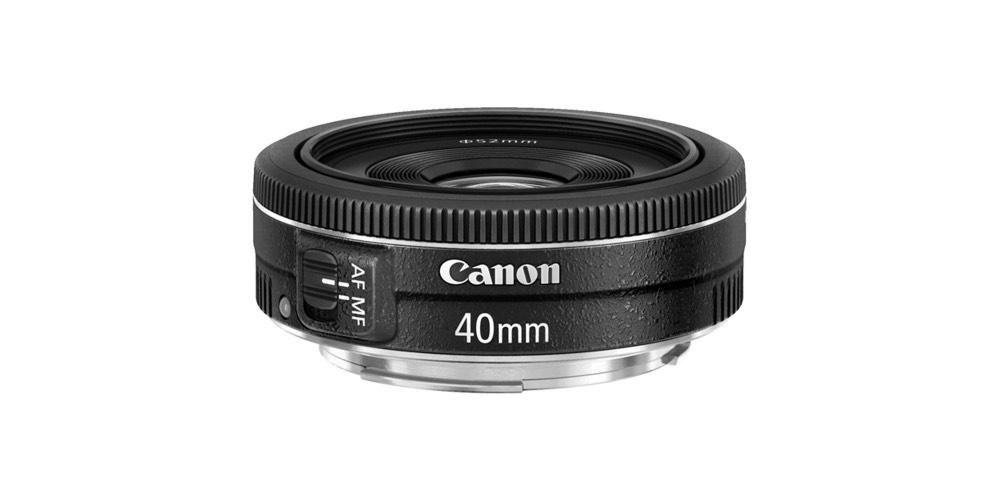 Canon EF 40mm f/2.8 STM Lens Image