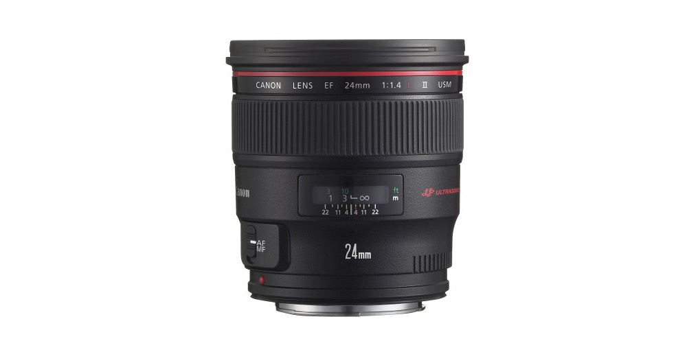 Canon EF 24mm f/1.4L II USM Wide Angle Lens Image