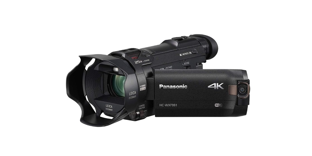 Panasonic HC-WXF991K 4K Ultra HD Camcorder with Wi-Fi Image