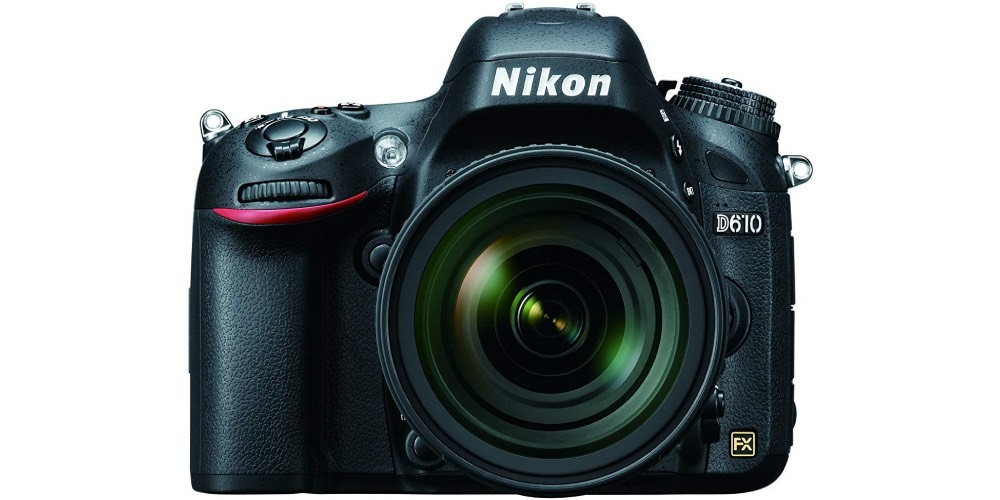 Nikon D610 FX-Format Digital SLR Camera Image