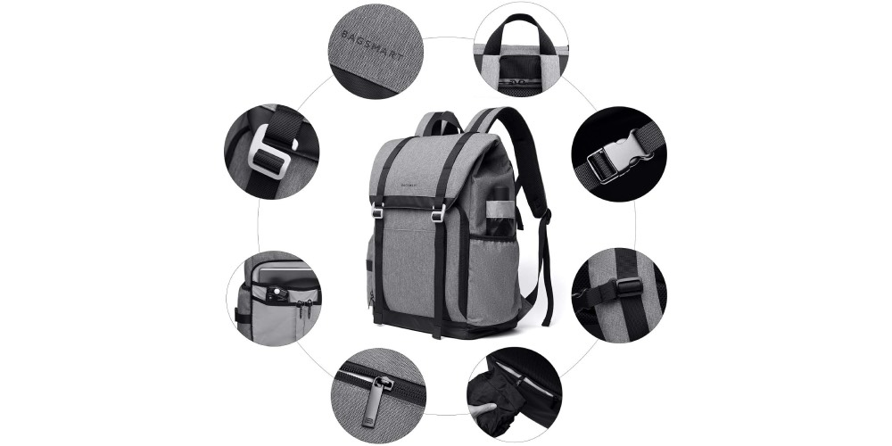 BAGSMART Camera Backpack Image
