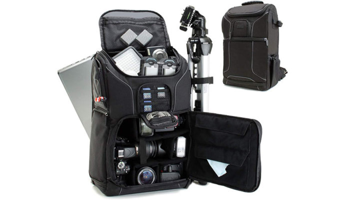USA GEAR SLR Camera Backpack Case Image 1