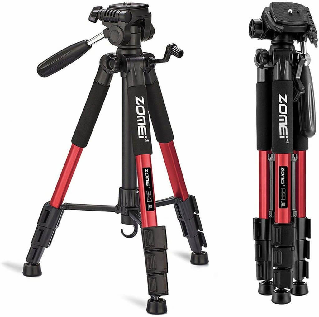 "Zomei 55"" Travel Tripod Image 1"