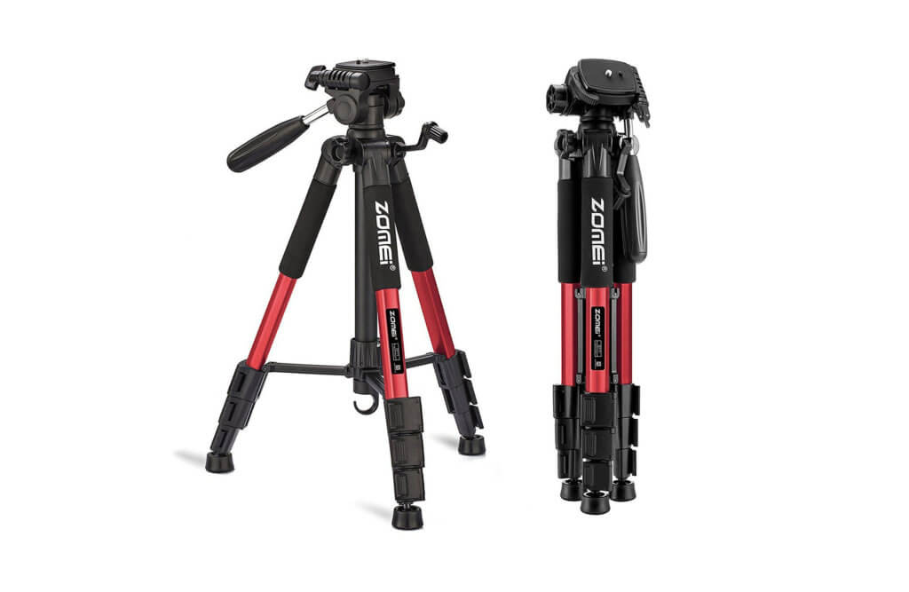 "Zomei 55"" Travel Tripod Image"
