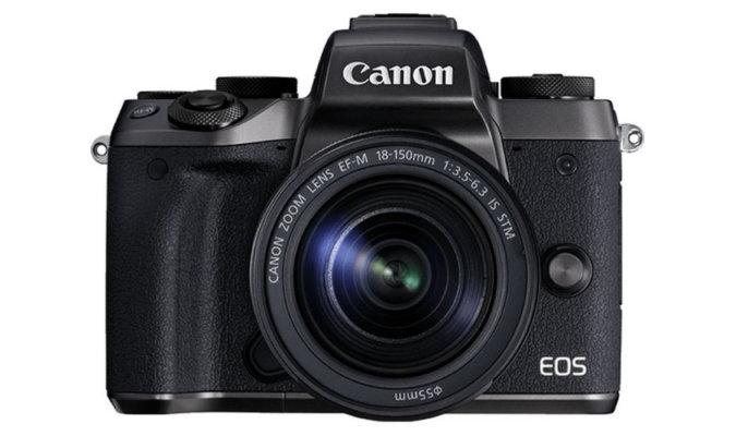 Canon M5 IBIS patent
