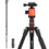 GEEKOTO 77″ Tripod: Tall, Compact, and Rugged