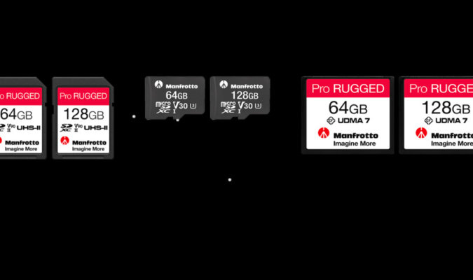 Manfrotto Pro Rugged Memory Cards Image-1