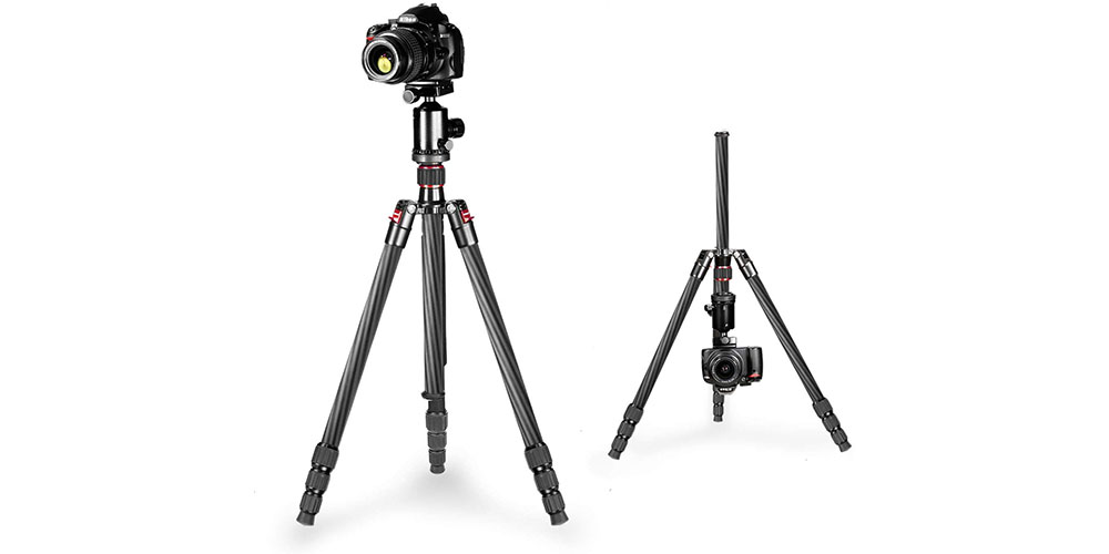 Neewer Carbon Fiber 66-Inch Tripod Image 4