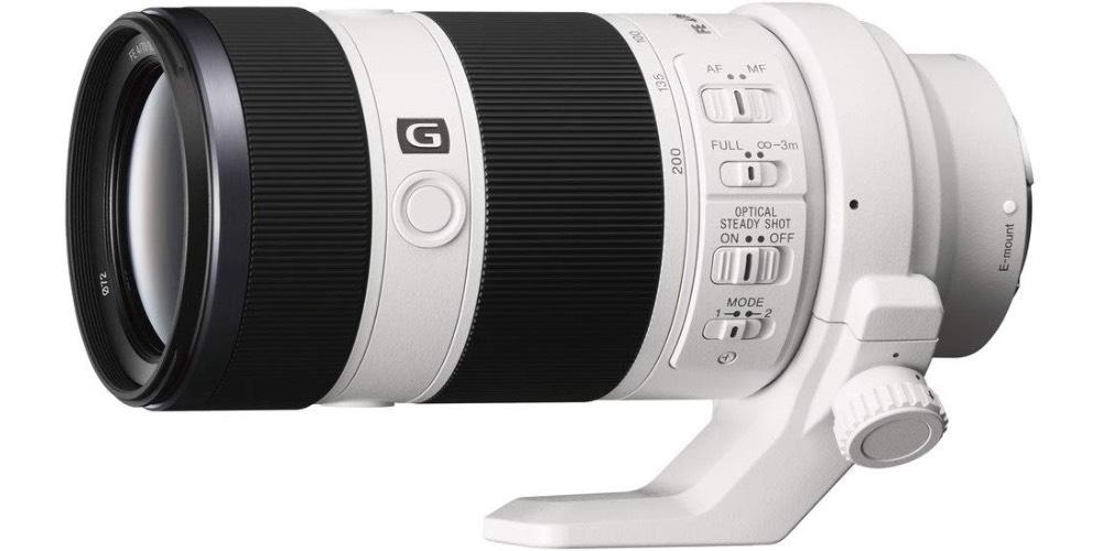 Sony SEL770200G FE 70-200mm f/4 G OSS E-Mount Full Frame Interchangeable Lens Image