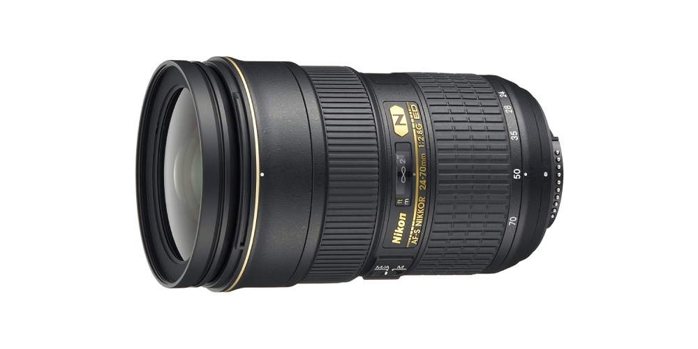 Nikon AF-S FX Nikkor 24-70mm F/2.8G ED Zoom Lens Image