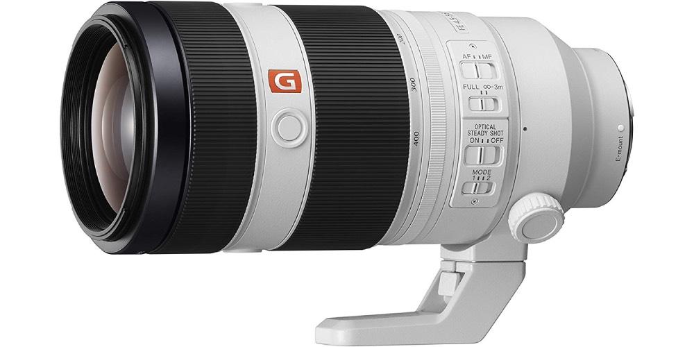 Sony Alpha SEL100400GM Super Telephoto Zoom Lens Image
