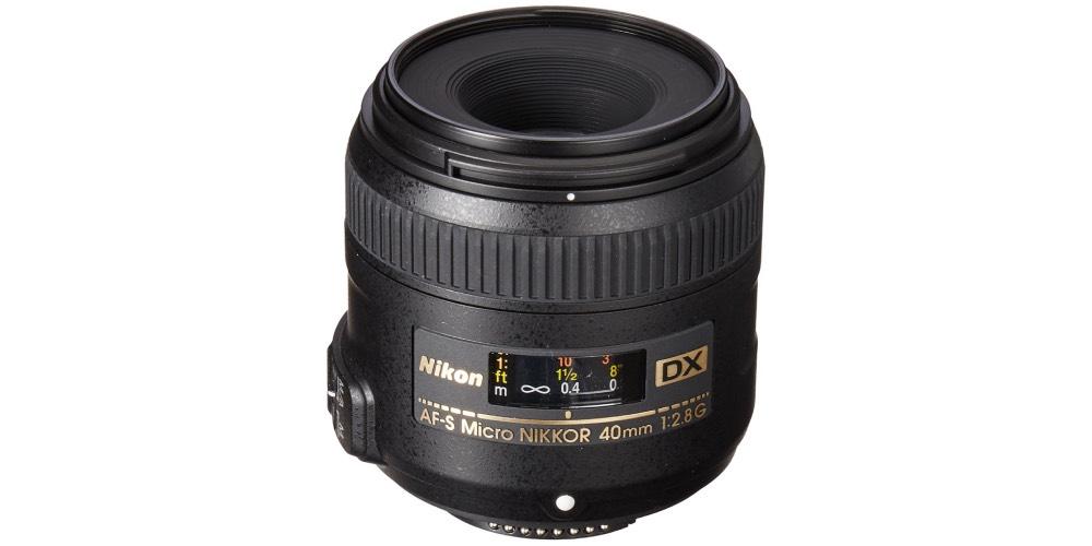 Nikon AF-S DX Micro-Nikkor 40mm F2.8G Close-Up Lens Image