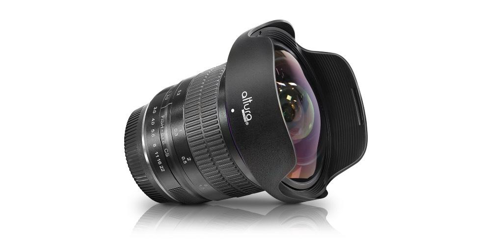 Altura Photo 8mm F/3.0 Professional Ultra Wide Angle Aspherical Fisheye Lens Image