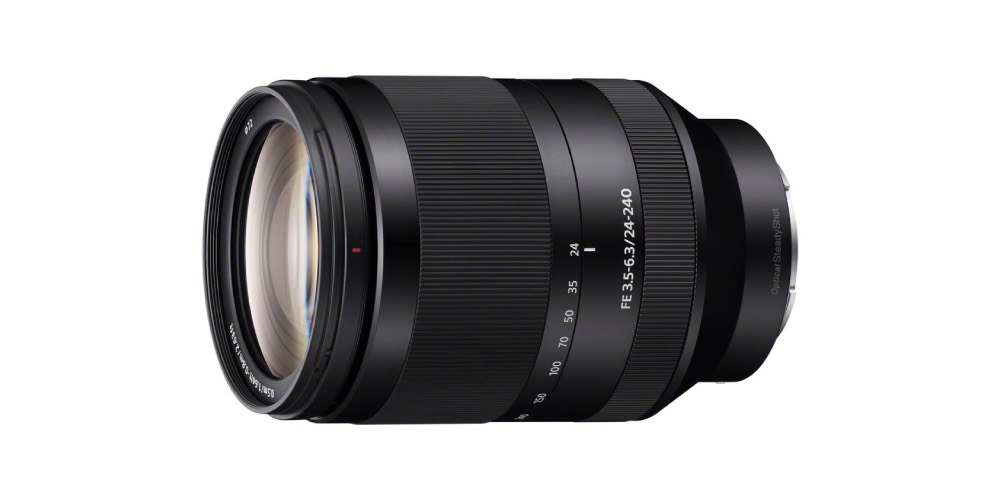 Sony FE 24-240mm f/3.5-6.3 OSS Full-frame E-mount Telephoto Zoom Lens Image