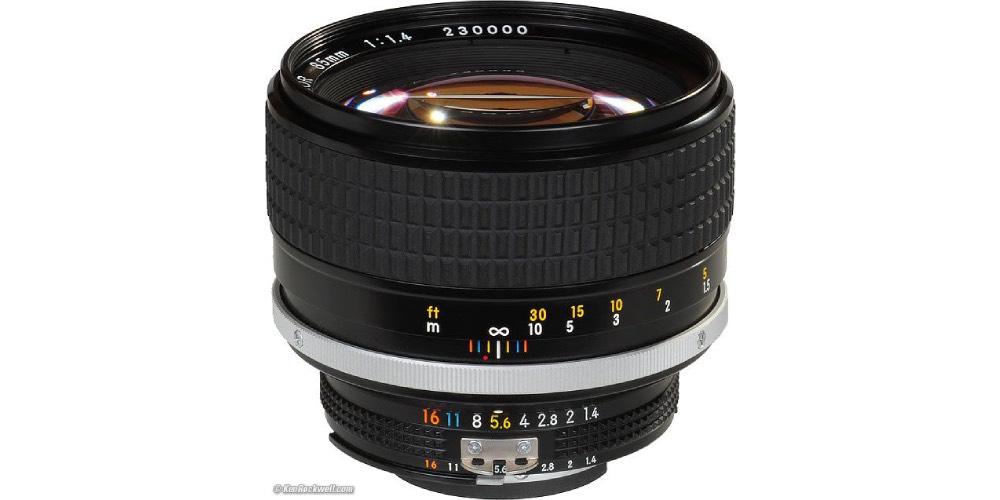 Nikkor 85mm f/1.4 Image