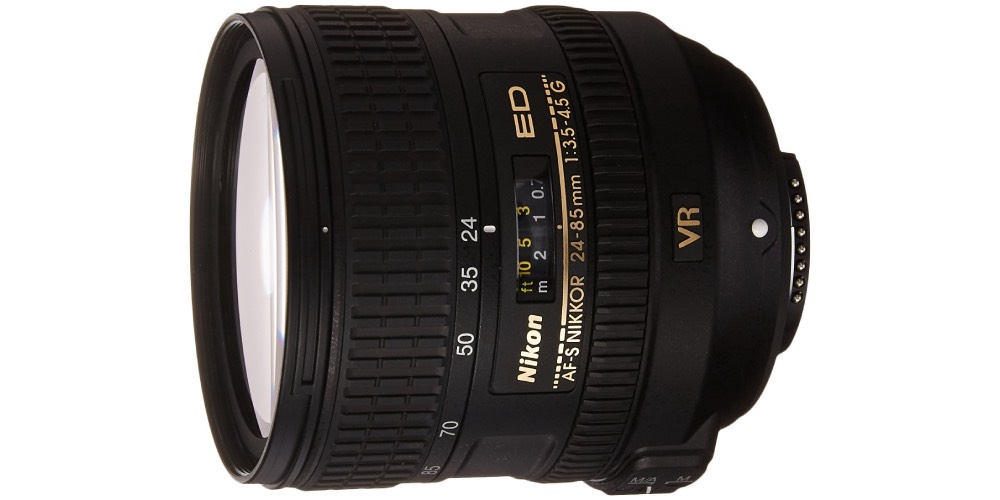 Nikon 24-85mm F/3.5-4.5G ED VR AF-S Nikkor Lens Image