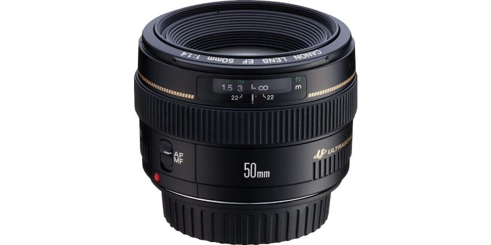 Canon EF 50mm f/1.4 USM Autofocus Lens Image