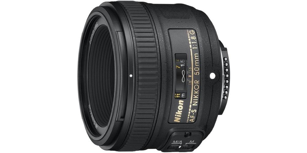 Nikon AF-S FX Nikkor 50mm F/1.8G Lens Image