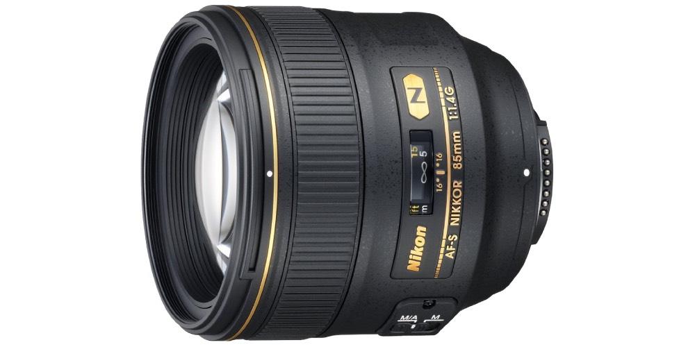 Nikkor 85mm f/1.4G Lens Image