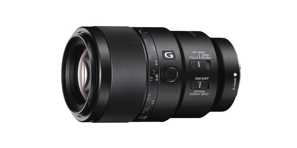 Sony 90mm f2.8 Macro G Full-Frame E-mount Macro Lens Image