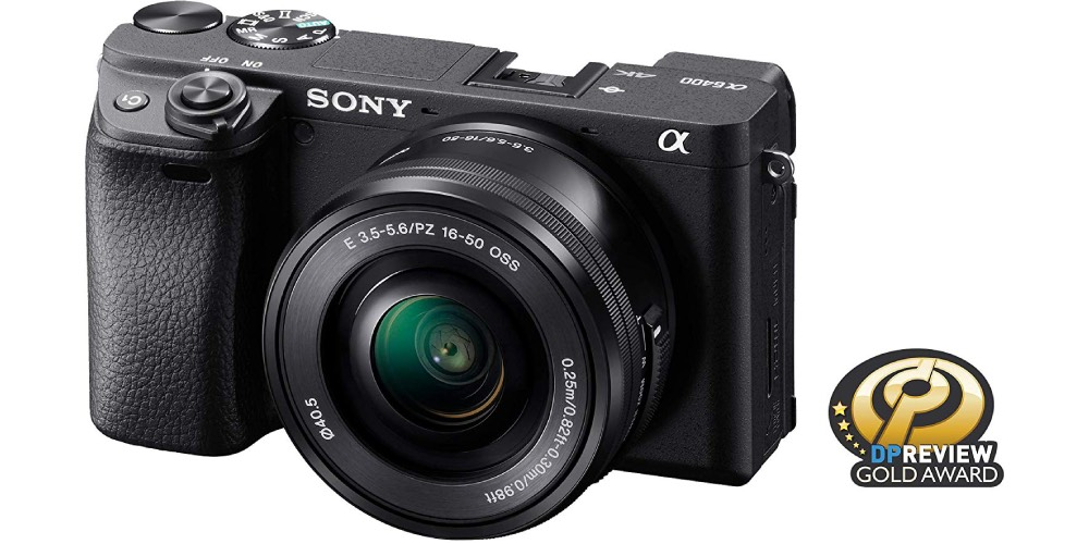 Sony a6400 Mirrorless APS-C Interchangeable-Lens Camera Image