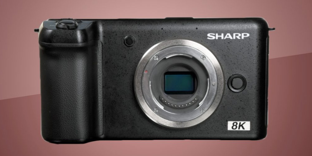 Sharp 8K Video Camera image-2
