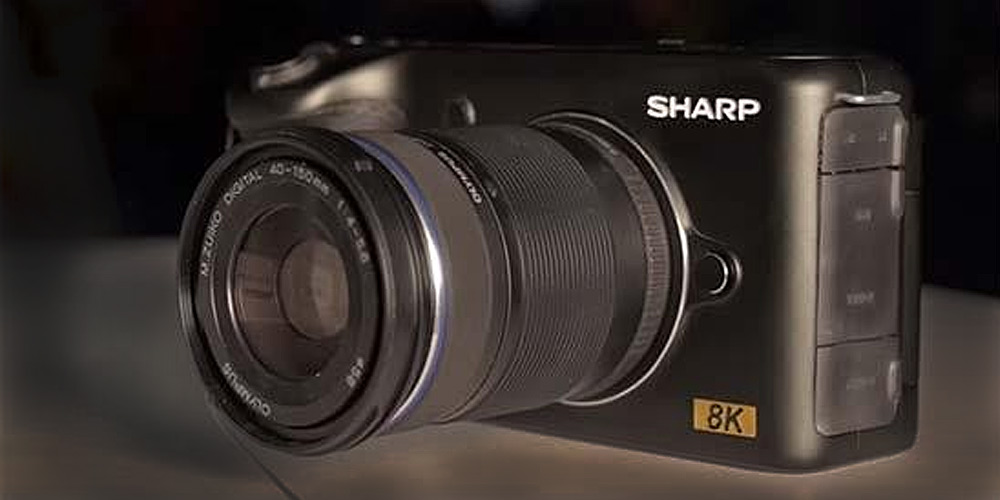 Sharp 8K Video Camera image-1